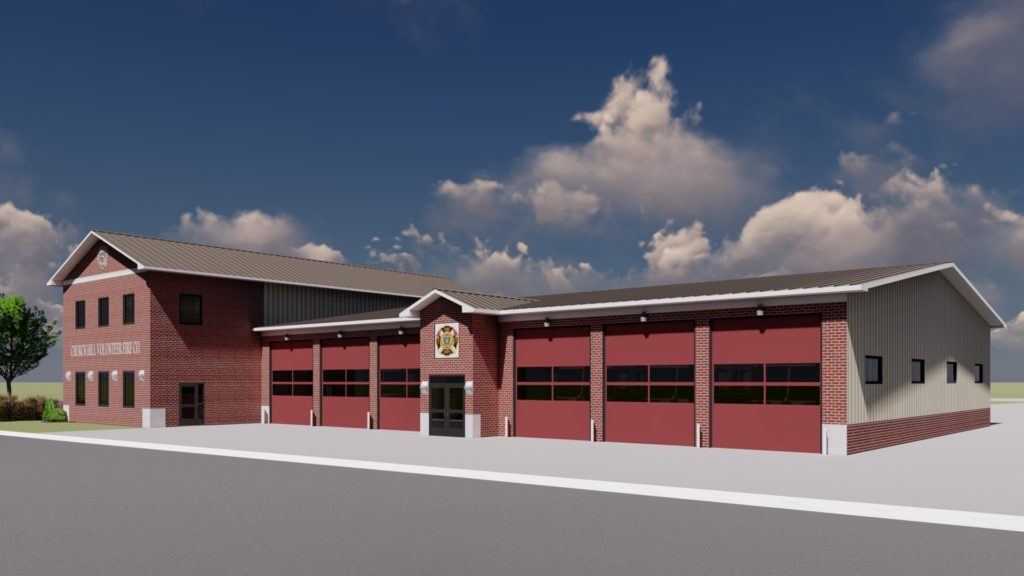 CHVFD New Firehouse Under Construction 2019