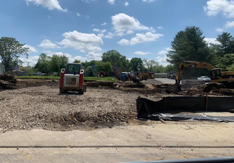 New Fire Station - Dirt Excavation and Site Preparation